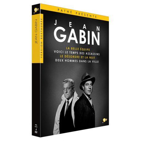COFFRET GABIN - 4 DVD