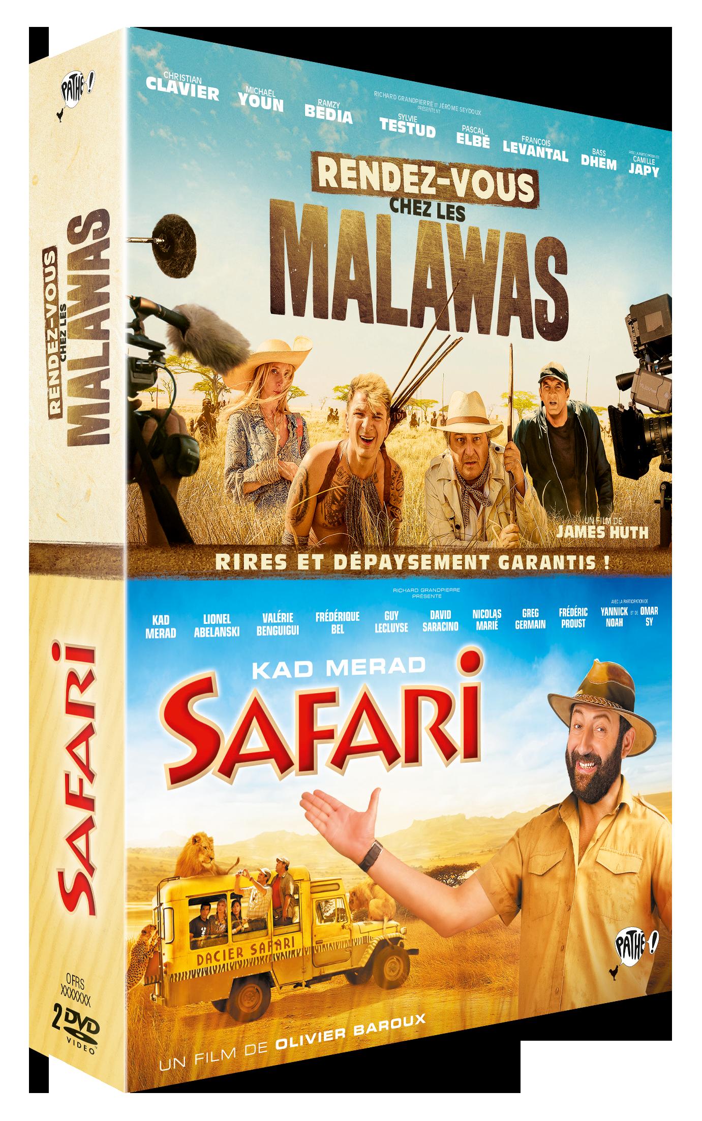 SAFARI + RENDEZ-VOUS CHEZ LES MALAWAS 2DVD