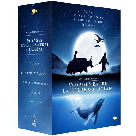 COFFRET JACQUES PERRIN - 5 DVD