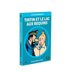TINTIN ET LE LAC AUX REQUINS LONG METRAGE ANIMATION DVD