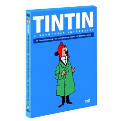TINTIN : LES 7 BOULES DE CRISTAL - LE TEMPLE DU SOLEIL - L'ÉTOILE MYSTERIEUSE