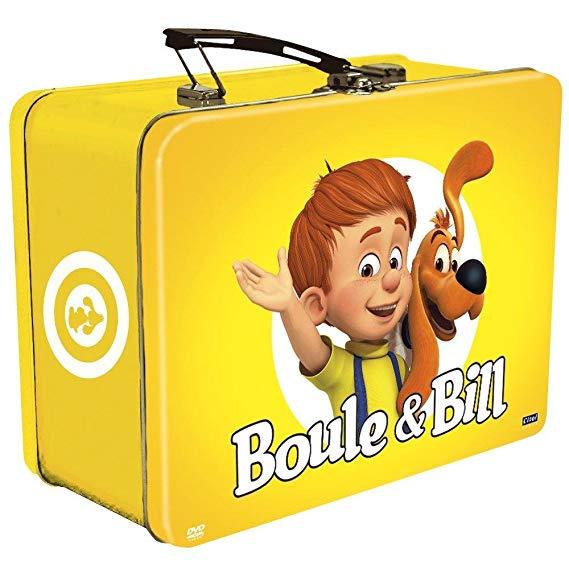 BOULE & BILL : NOUVEAUX EPISODES - VALISETTE METAL - COFFRET 4 DVD