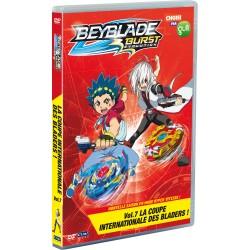 BEYBLADE BURST EVOLUTION - VOL.7 - LA COUPE INTERNATIONALE DES BLADERS ! - 1 DVD