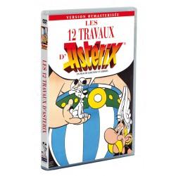 ASTERIX : LES 12 TRAVAUX D'ASTERIX - 1 DVD