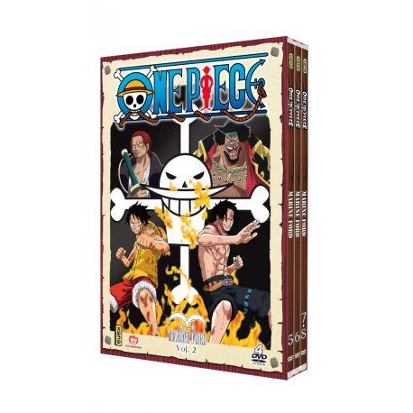 ONE PIECE - MARINE FORD VOL.2 - COFFRET 4 DVD
