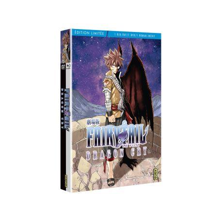 FAIRY TAIL DRAGON CRY LE FILM - COMBO DVD + BLURAY