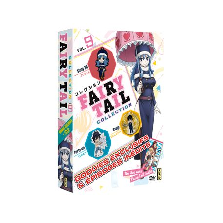 FAIRY TAIL COLLECTION VOL.9 - COFFRET 1 DVD