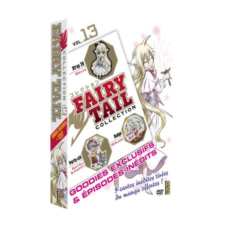 FAIRY TAIL COLLECTION VOL.13 - COFFRET 1 DVD