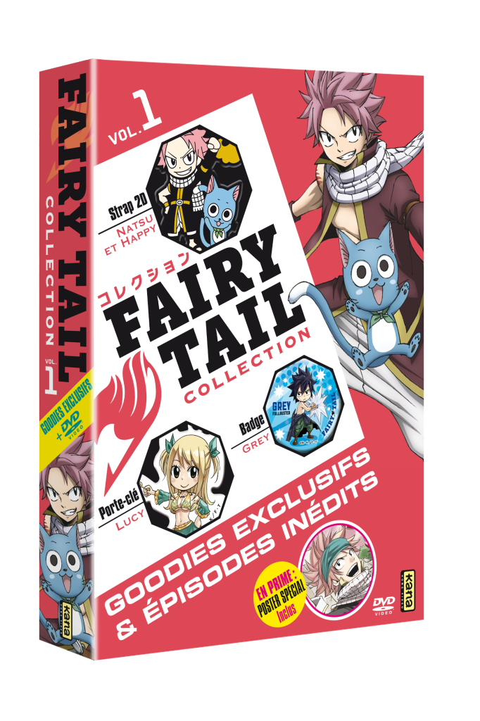FAIRY TAIL COLLECTION VOL.1 - COFFRET 1 DVD