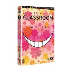 ASSASSINATION CLASSROOM - VOLUME 4 - COFFRET DVD + BRD