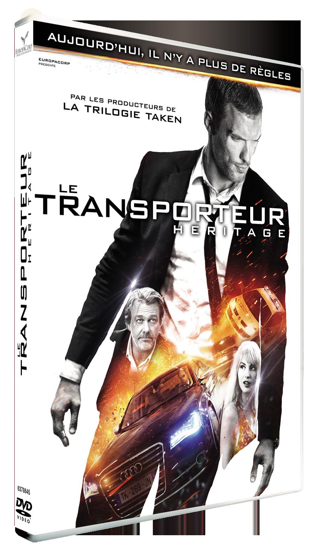 TRANSPORTEUR : Héritage (Le) DVD