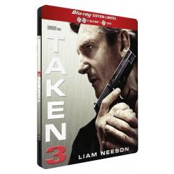 TAKEN 3 - 2 BLURAY + 1 DVD PACK METAL ED