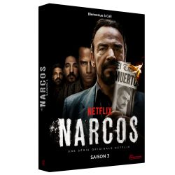 NARCOS SAISON 3 - 4 DVD
