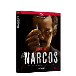 NARCOS SAISON 2 - 4 BLU-RAY - BRD
