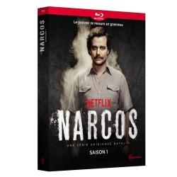 NARCOS SAISON 1 - 4 BLU-RAY - BRD