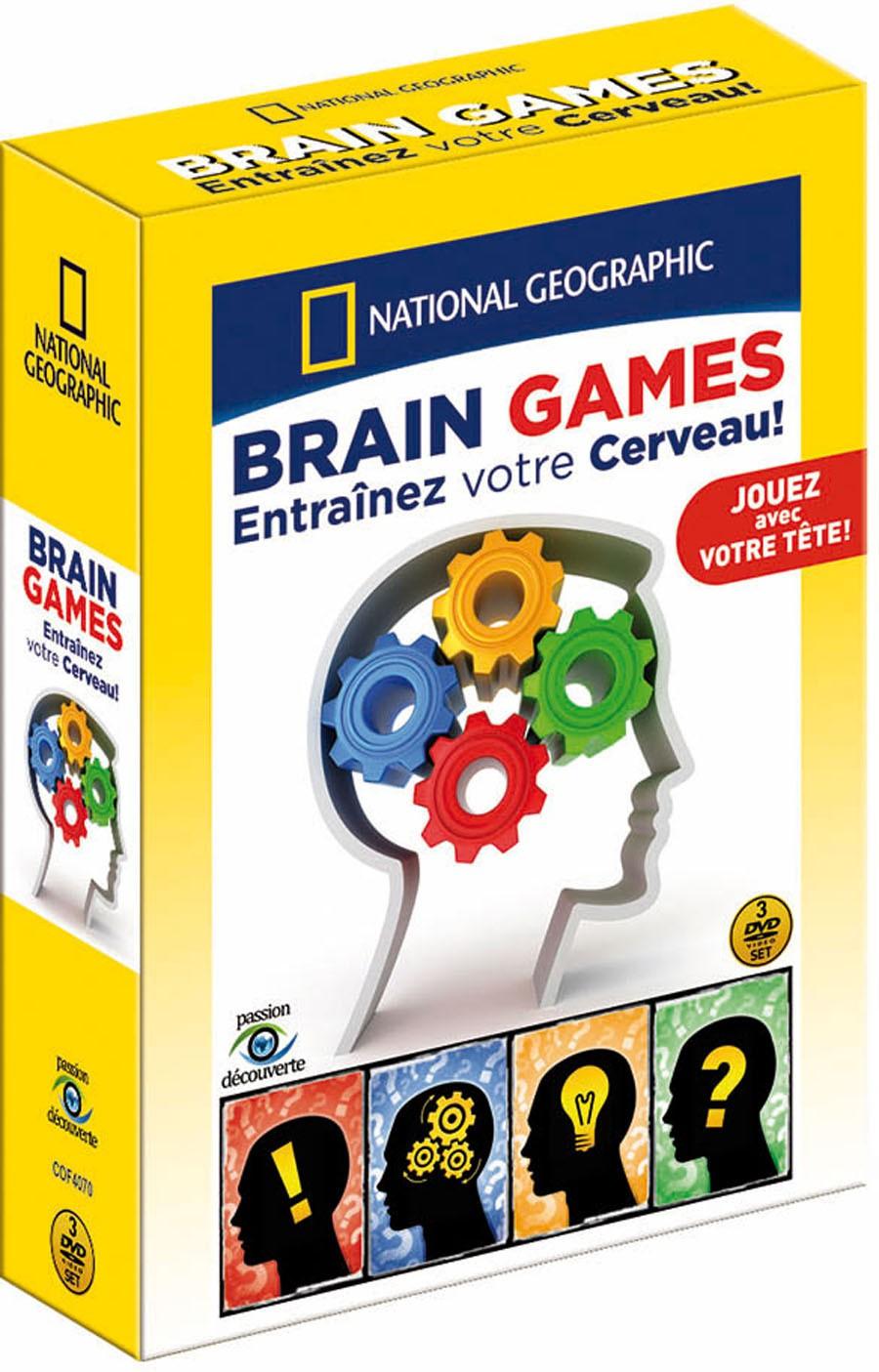 NATIONAL GEOGRAPHIC - BRAIN GAMES, ENTRAINEZ VOTRE CERVEAU