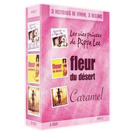 COFFRET 3 HISTOIRES DE FEMME, 3 DESTINS