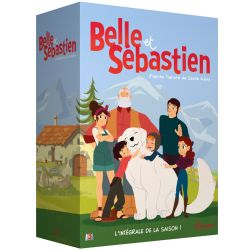 BELLE ET SEBASTIEN LA SERIE ANIMEE SAISON 1 - 5 DVD