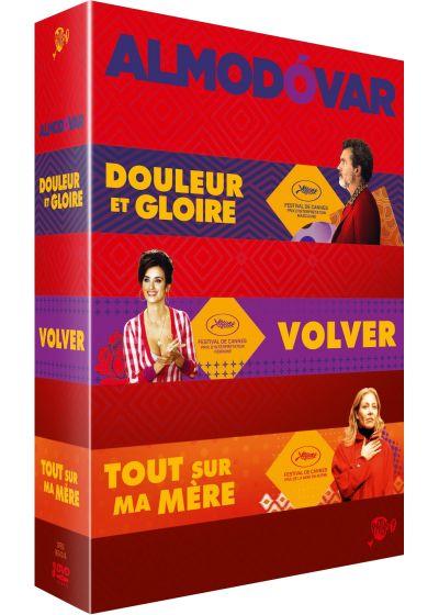 COFFRET ALMODOVAR - DOULEUR ET GLOIRE/ VOLVER/ TOUT SUR MA MERE