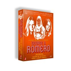 GEORGE A. ROMERO - CINEASTE VISIONNAIRE - THERE'S ALWAYS VANILLA, THE CRAZIES, SEASON OF THE WITCH - 3 BRD