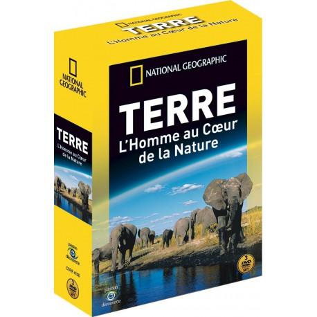 NATIONAL GEOGRAPHIC - TERRE : L'HOMME AU COEUR DE LA NATURE