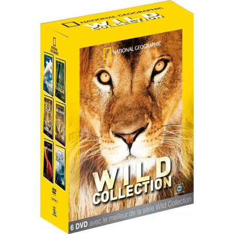 NATIONAL GEOGRAPHIC - WILD COLLECTION6 DVD