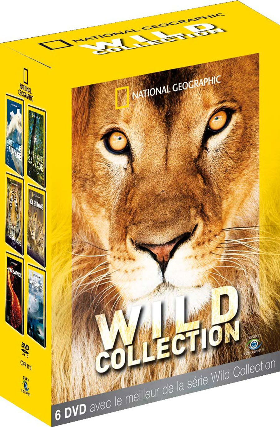 NATIONAL GEOGRAPHIC - WILD COLLECTION 6 DVD