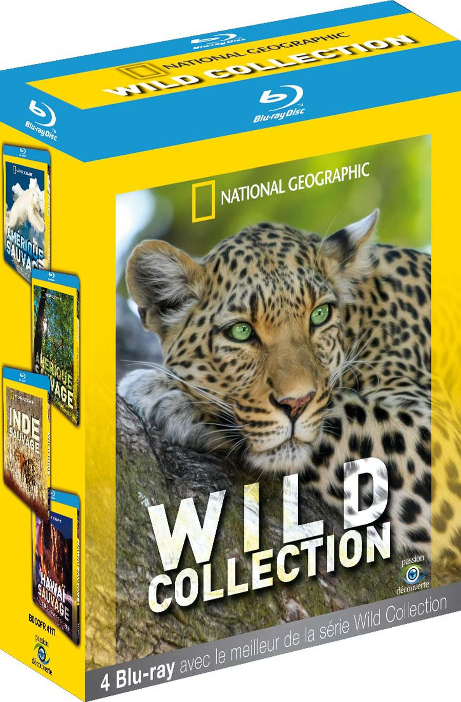 NATIONAL GEOGRAPHIC - WILD COLLECTION 4 BLU-RAY