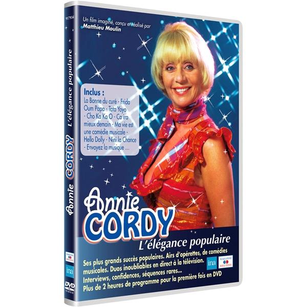 ANNIE CORDY L'ELEGANCE POPULAIRE