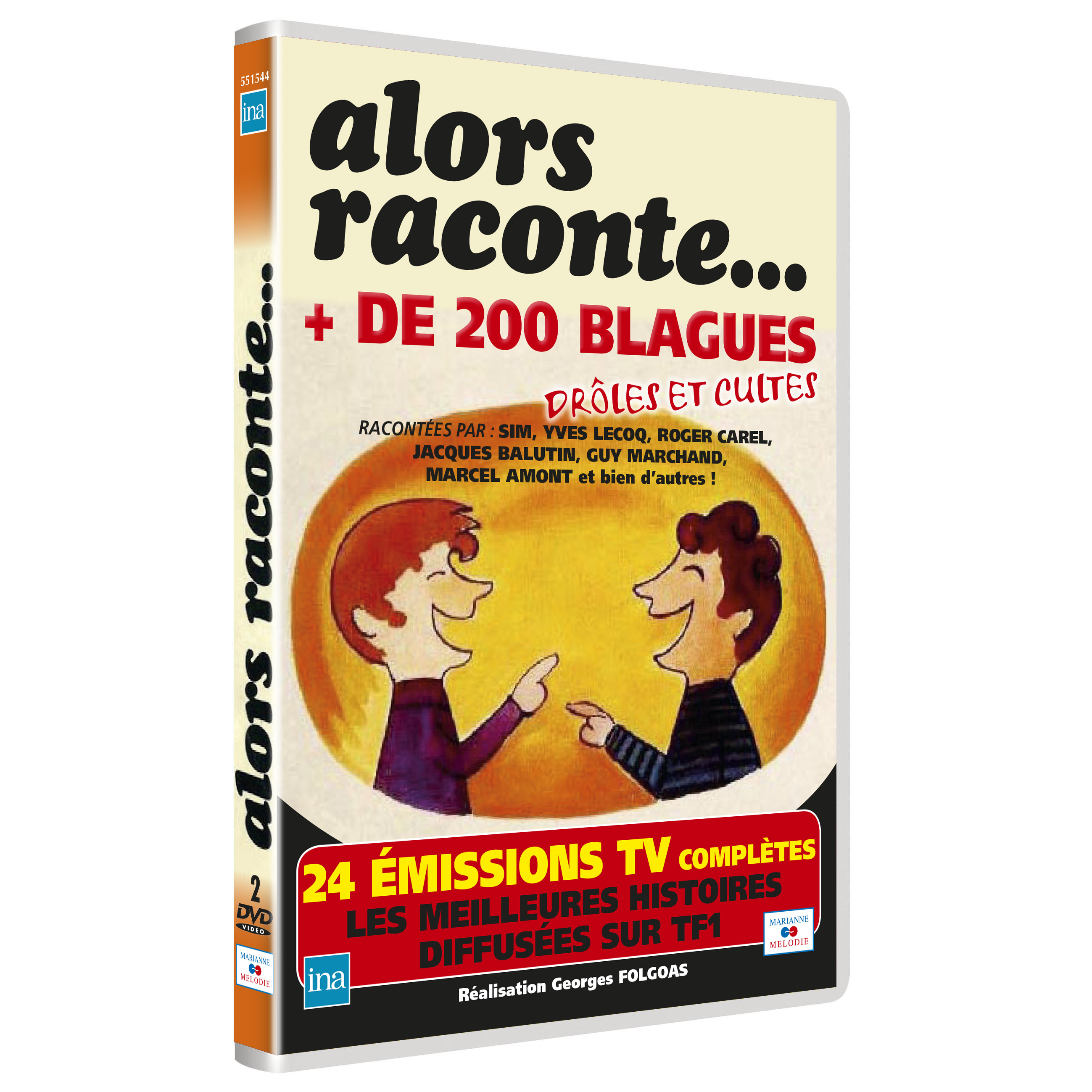 ALORS RACONTE PLUS DE 200 BLAGUES - 2 DVD