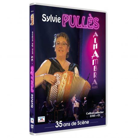 SYLVIE PULLES 35 ANS DE SCENE - 2 DVD + 1 CD