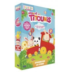 MONDE DES TITOUNIS - APPRENDRE AVEC LES TITOUNIS - COFFRET 2 DVD