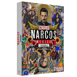 NARCOS MEXICO SAISON 2 - 4 DVD