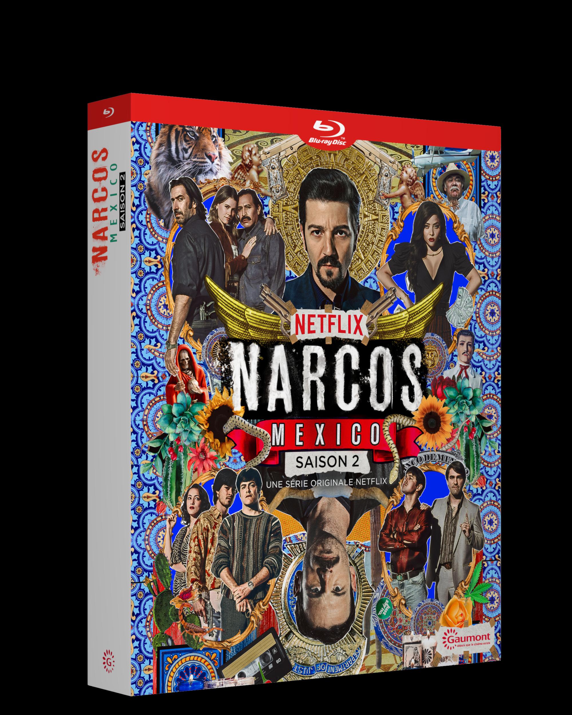 NARCOS MEXICO SAISON 2 - 4 BLU-RAY