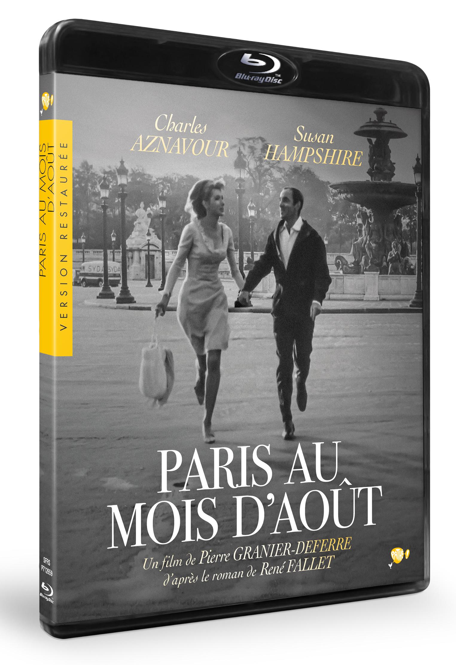 PARIS AU MOIS d'AOUT - BRD