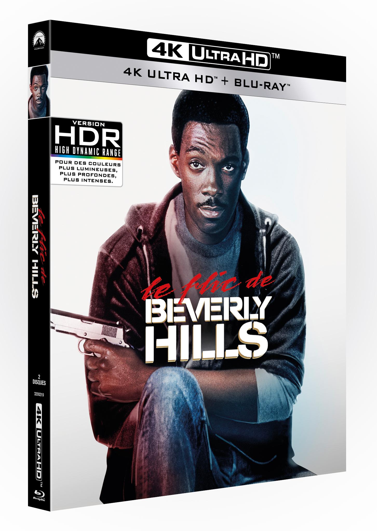 LE FLIC DE BEVERLY HILLS - 4K + BRD