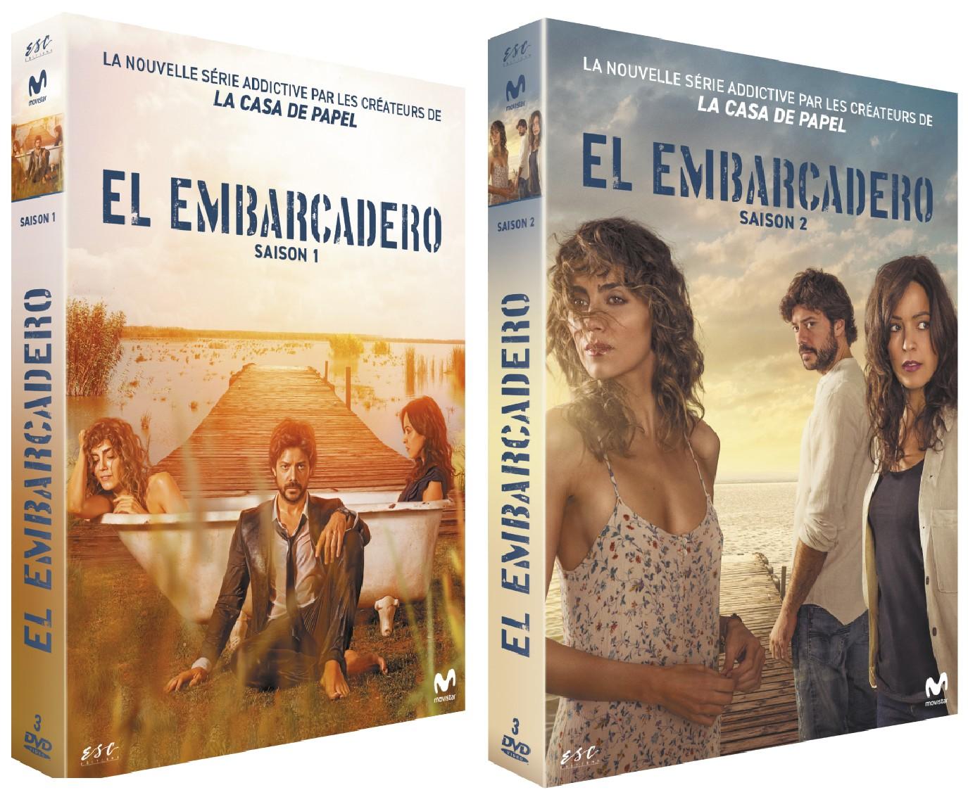 EL EMBARCADERO Saison 1 + 2 - DVD