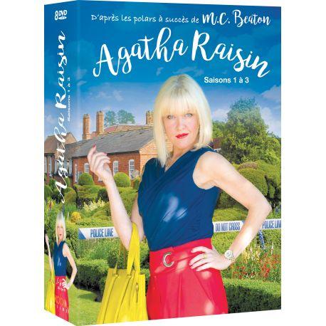 AGATHA RAISIN saisons 1 à 3 (8 DVD)