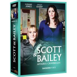 SCOTT & BAILEY SAISONS 1 À 3 (6 DVD)