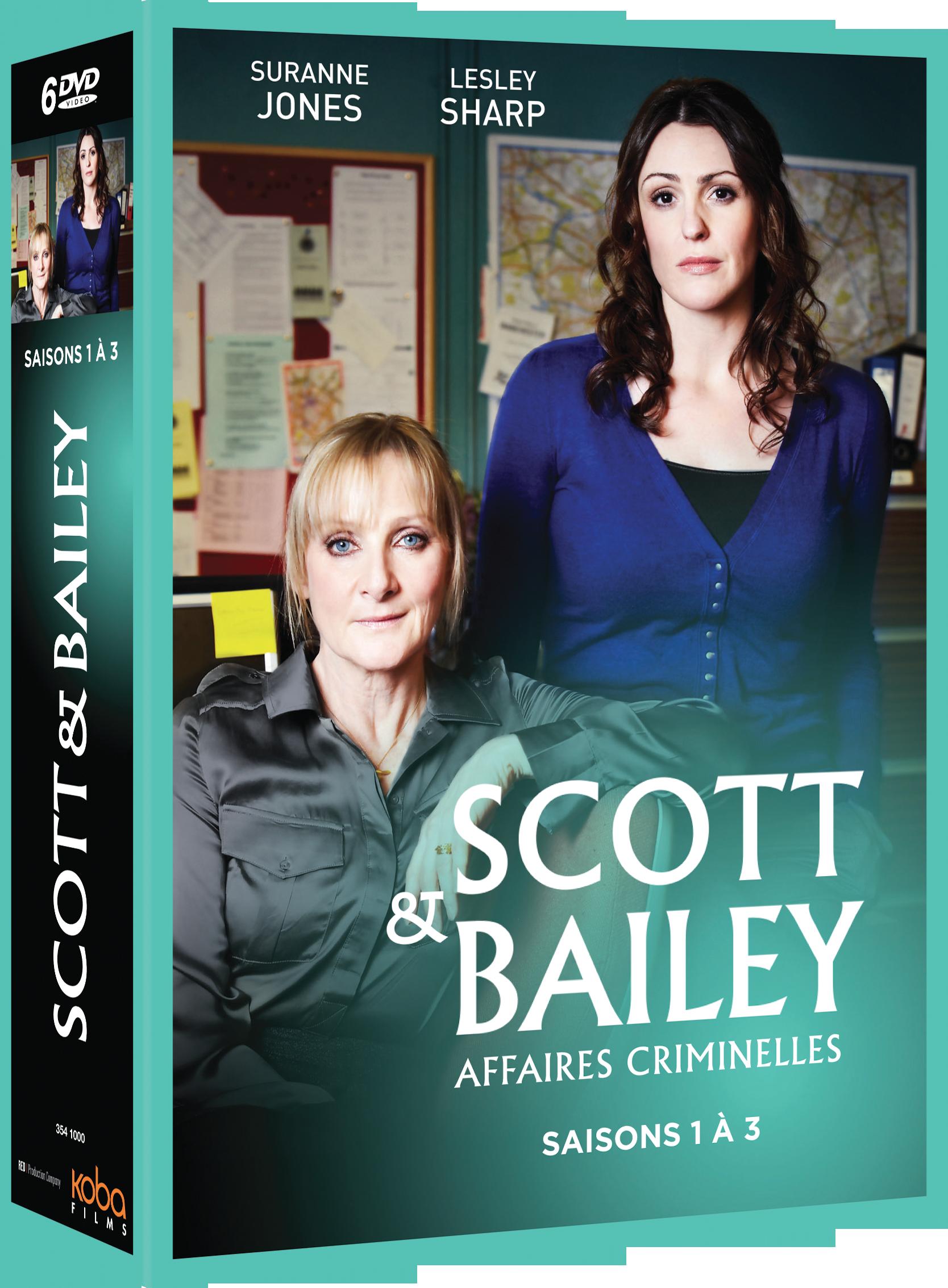 SCOTT & BAILEY SAISONS 1 À 3 (6 DVD)