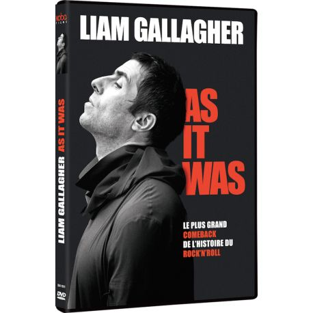 LIAM GALLAGHER AS IT WAS