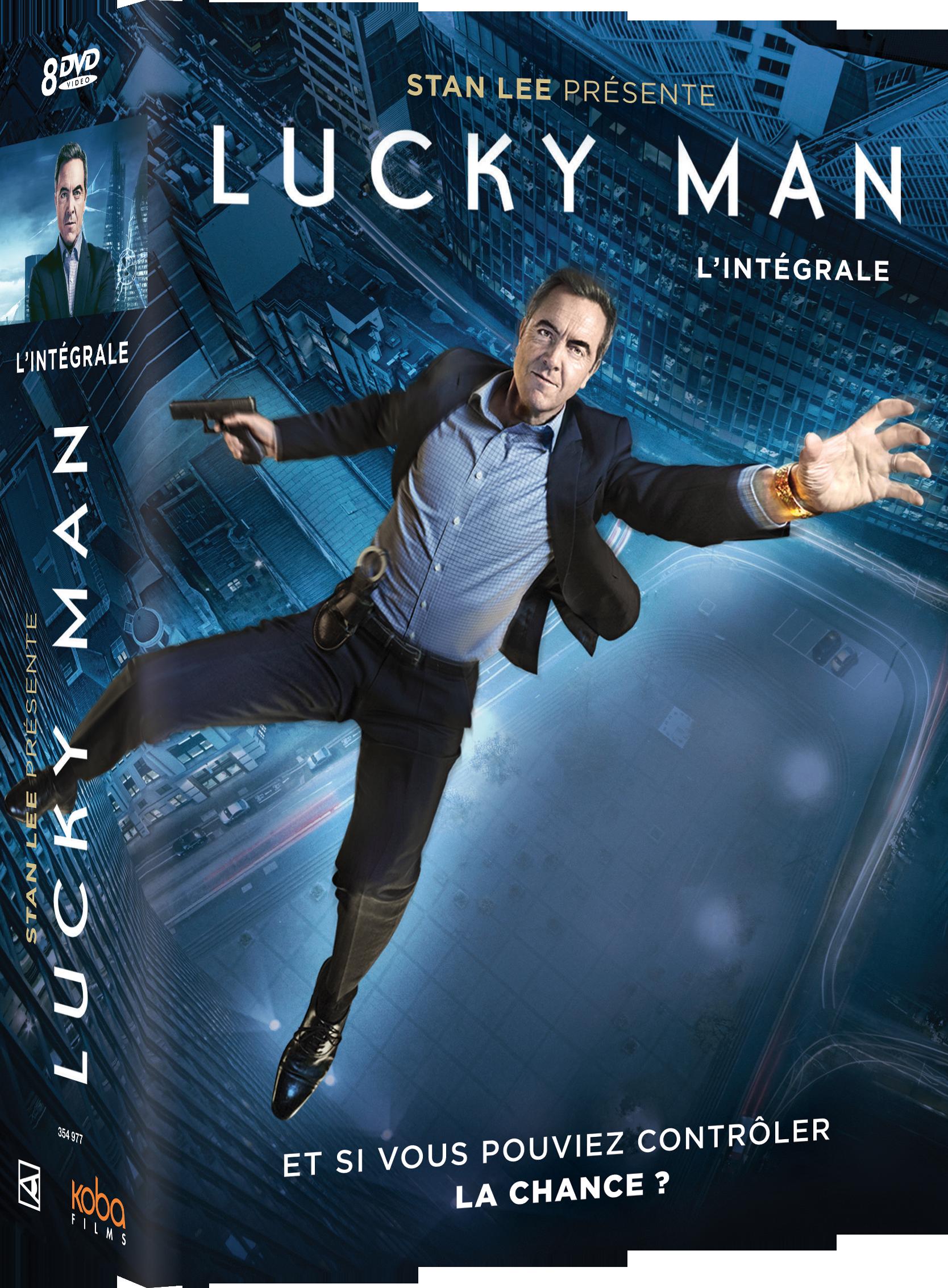 LUCKY MAN - INTEGRALE SAISONS 1 à 3 (8 DVD)
