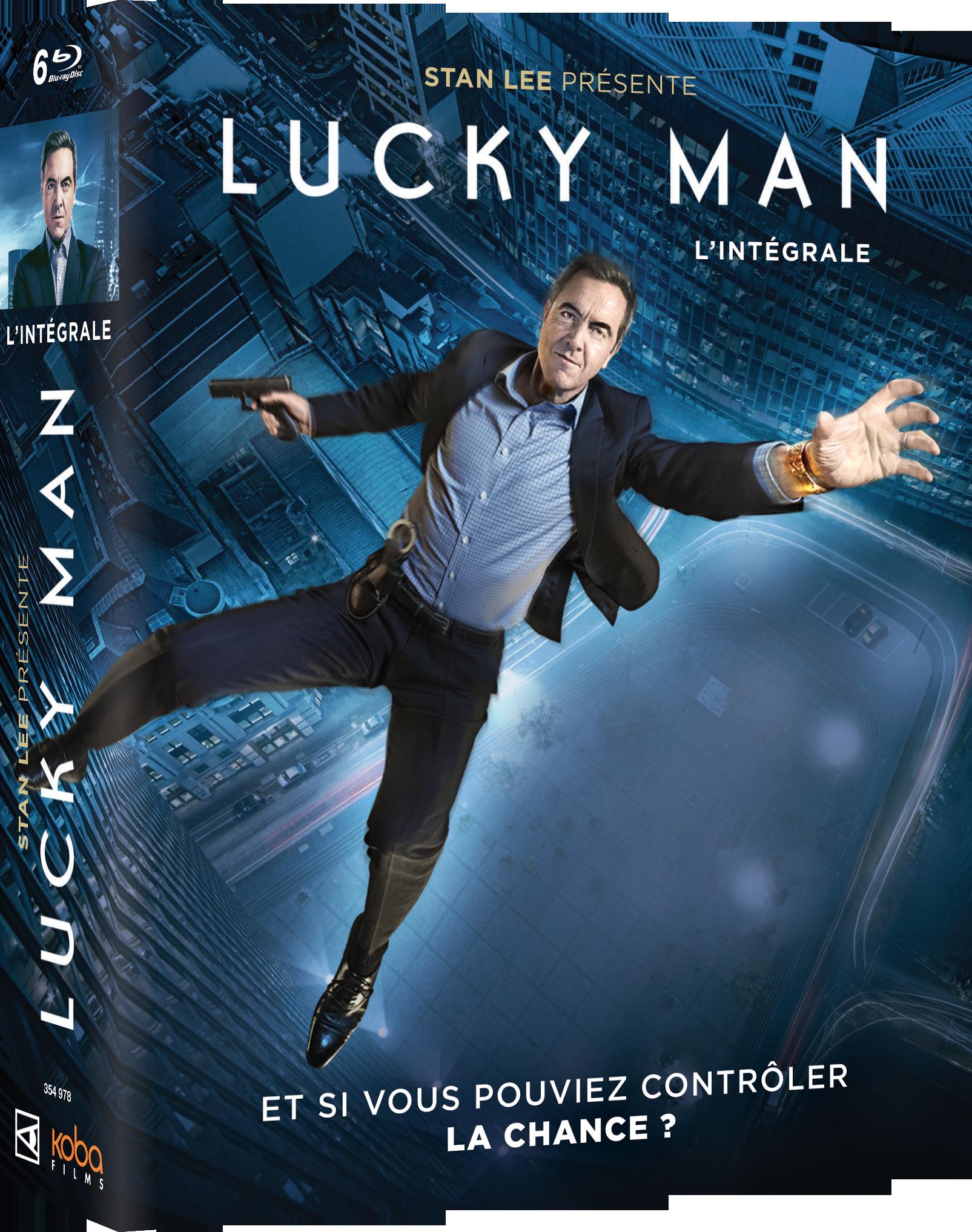 LUCKY MAN - INTEGRALE SAISONS 1 à 3 (6 BR)