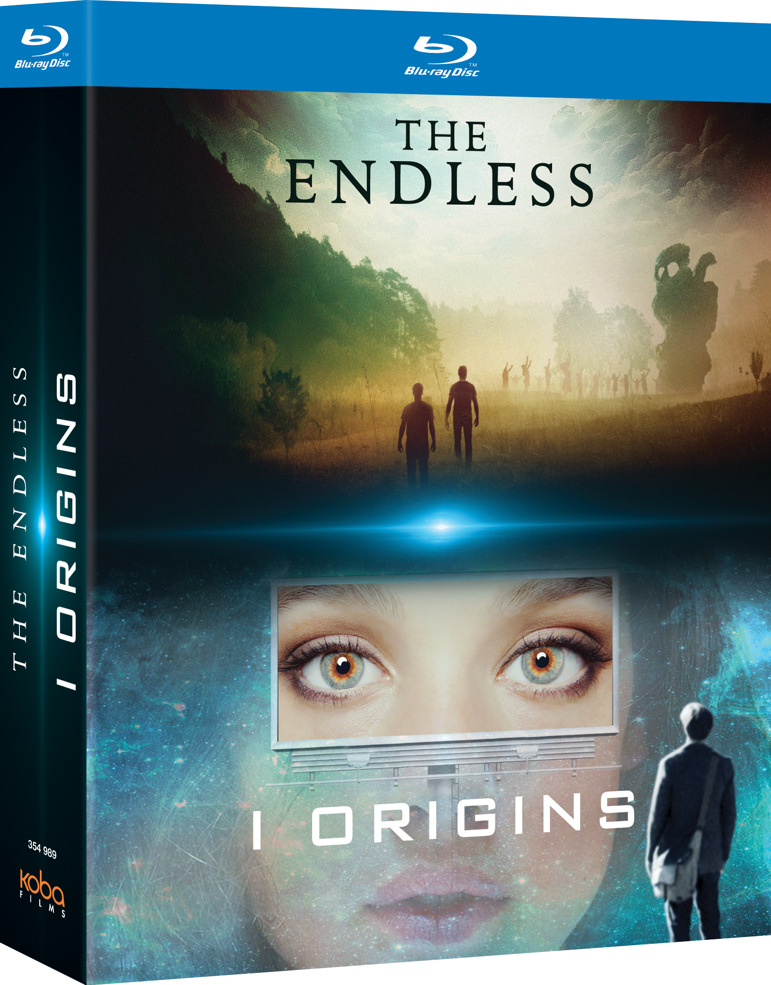 2 FILMS-CULTES DE SCIENCE-FICTION (I-ORIGINS + THE ENDLESS) - BRD
