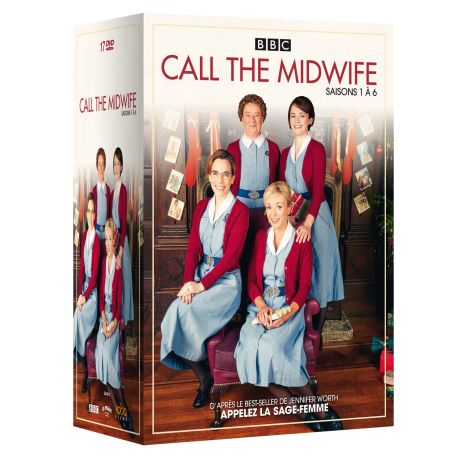 CALL THE MIDWIFE - COFFRET SAISONS 1 à 6 (17 DVD)