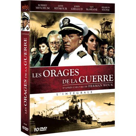 ORAGES DE LA GUERRE (LES) - INTEGRALE PARTIES 1 & 2 (10 DVD)