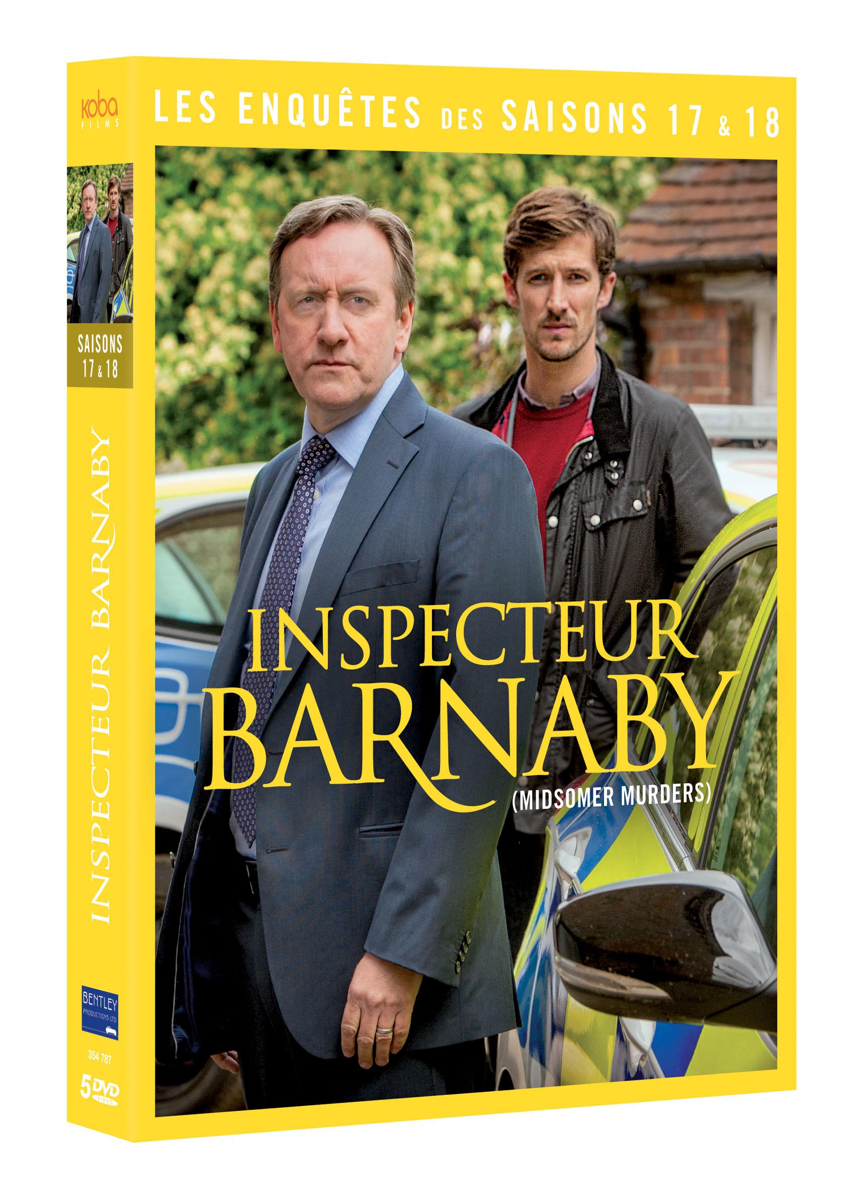 INSPECTEUR BARNABY - SAISONS 17 & 18 (5 DVD)