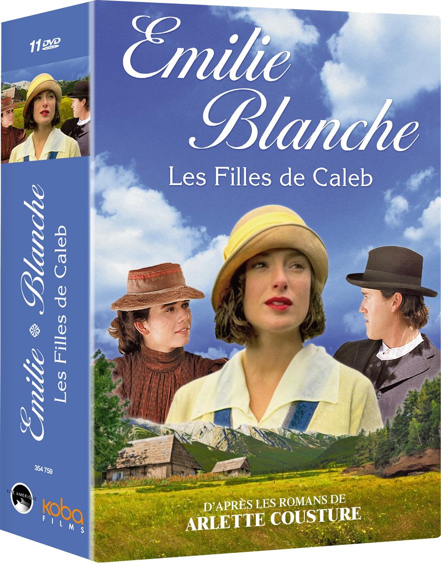 FILLES DE CALEB (LES): EMILIE et BLANCHE (11 DVD)