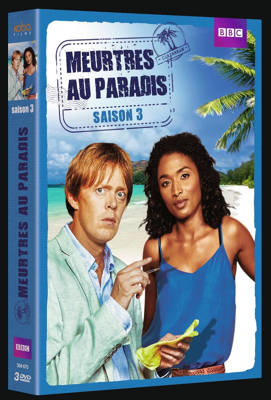 MEURTRES AU PARADIS - SAISON 3 (3 DVD)