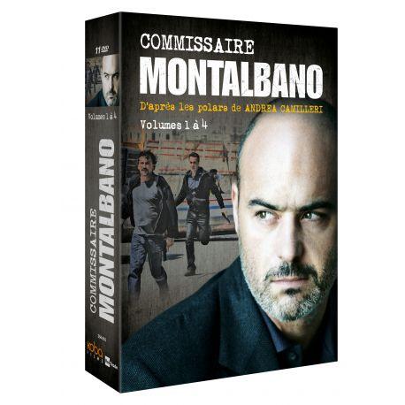 COMMISSAIRE MONTALBANO - COFFRET VOLUMES 1 à 4 (11 DVD)